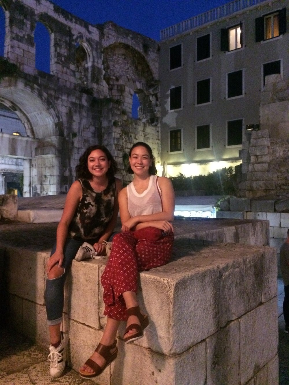 Laura & Sarah in Split