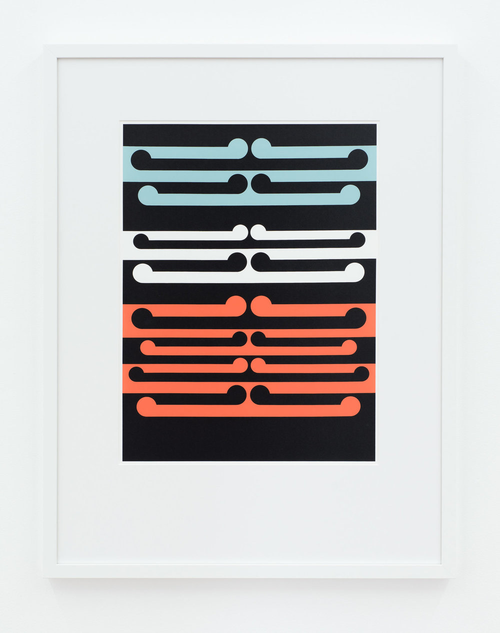 Gordon Walters  Painting No.7  (1965), 2016 screenprint on archival paper Image size 505 x 380 mm Framed size 795 x 615 mm Edition of 100