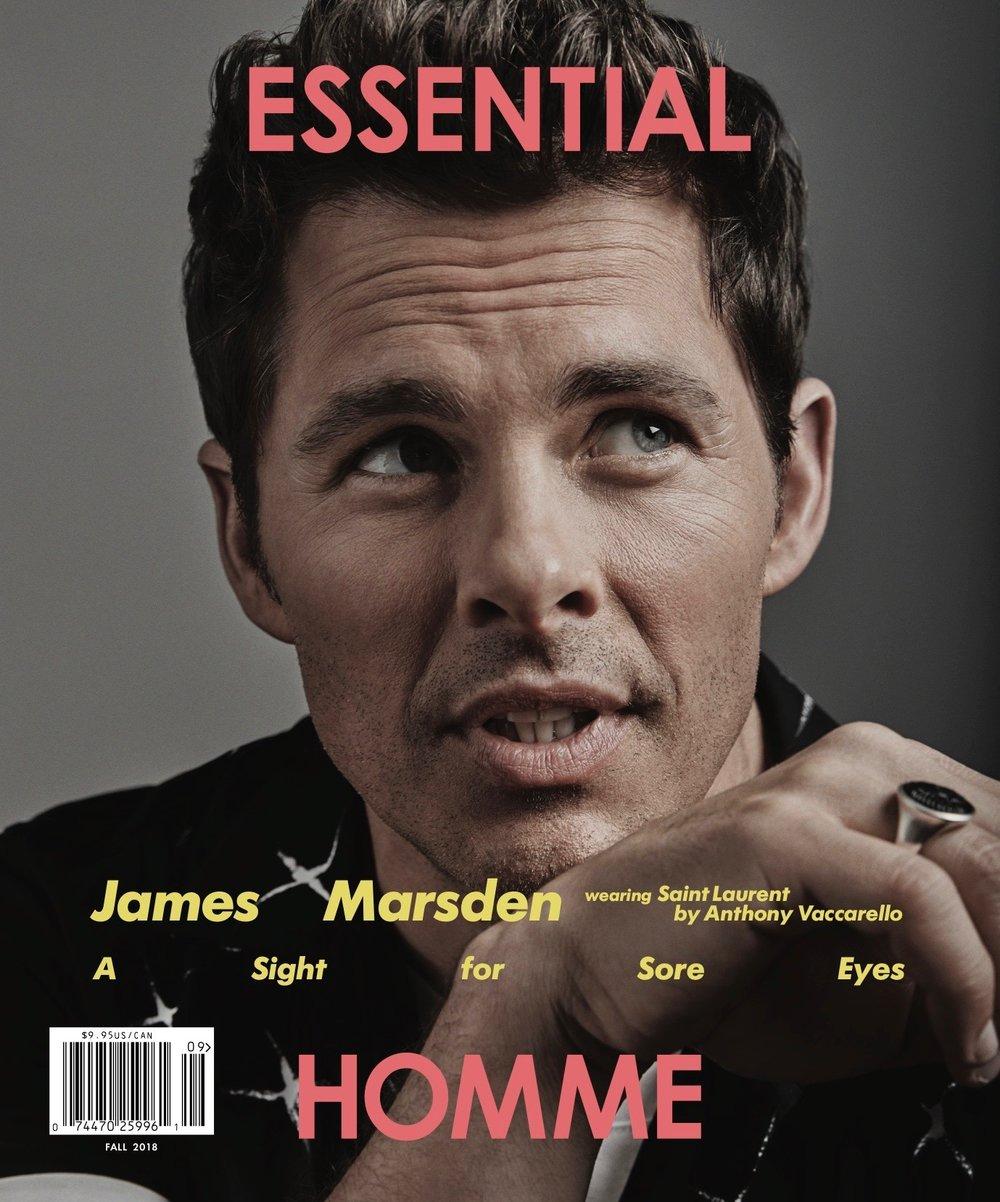 james marsden /  essential homme