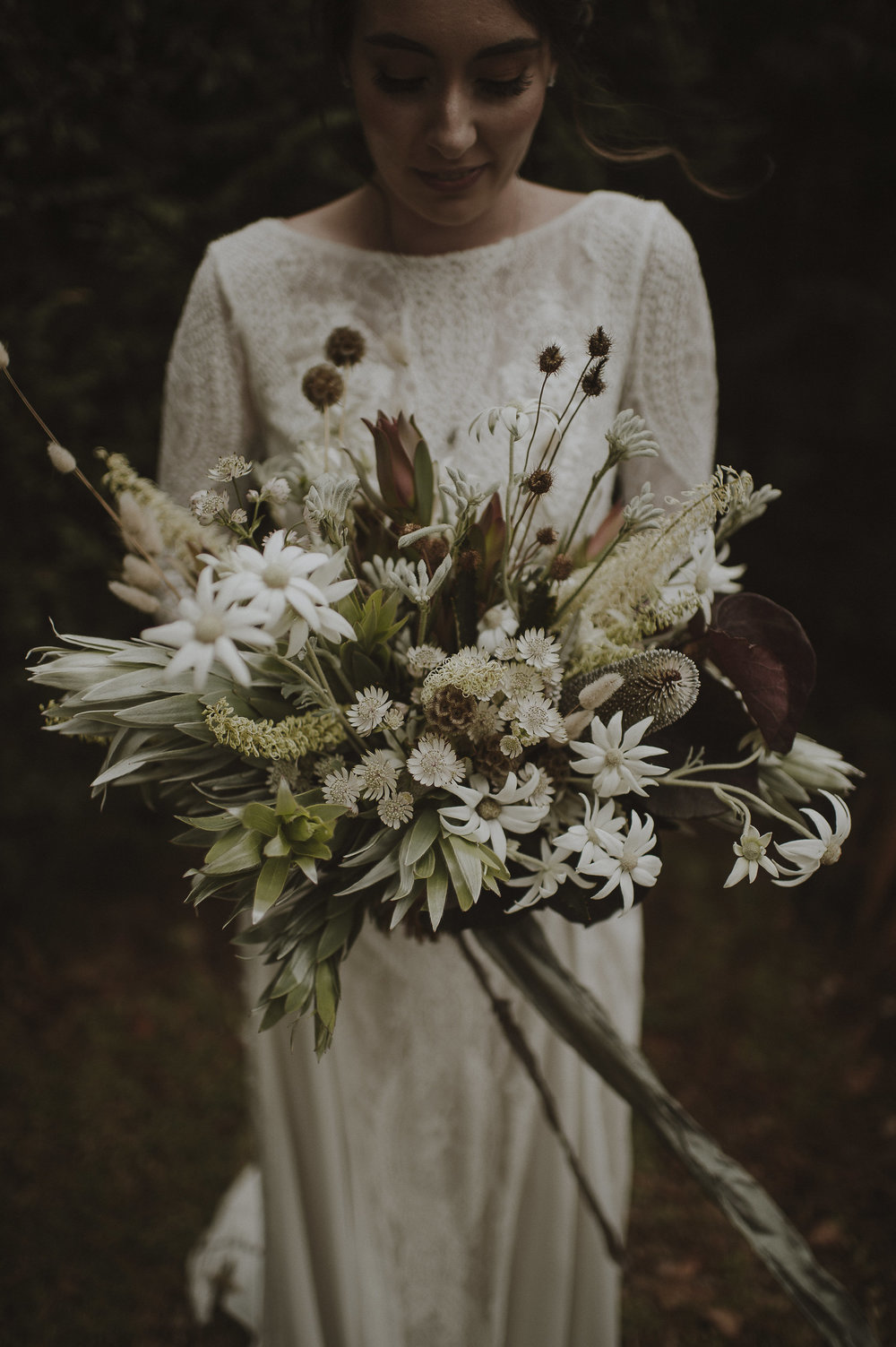 There are a million other dainty white flowers which have the bonus of being seasonal, local, natural and unique without breaking the budget.