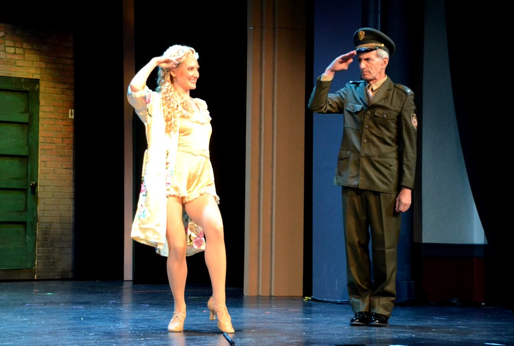 as The General in Kiss Me Kate