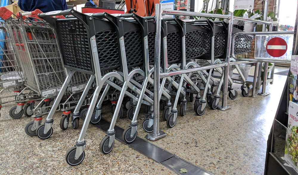 Not only are they better for the environment, the Hybrid trolleys look fantastic with sweeping organic curves and two-tone effect through contrasting materials