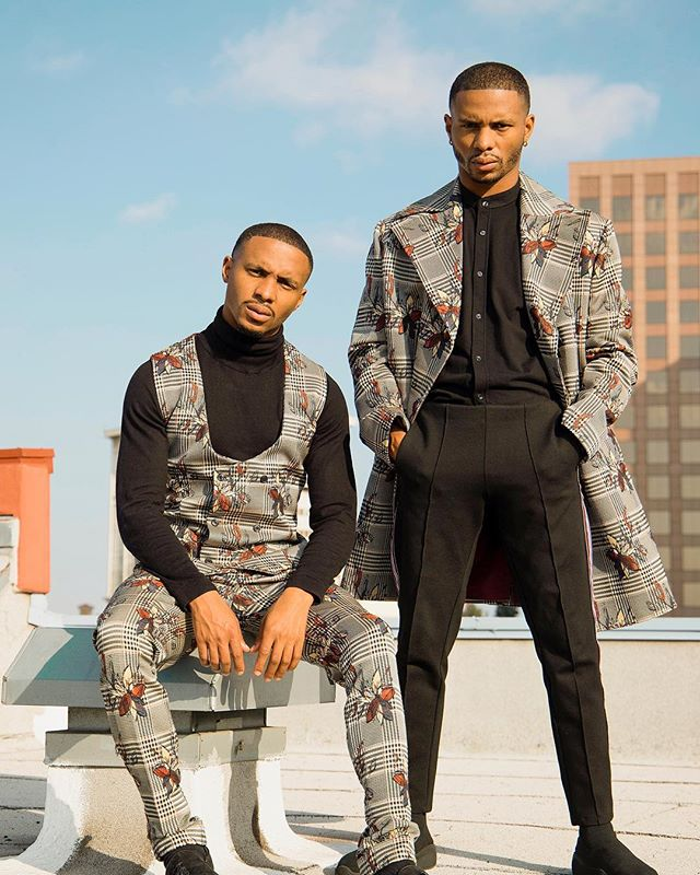 @Grayscaleic Winter 2018 with @officialharristwins.  For Winter '18, we wanted to showcase the versatility in today's fashion. From vibrant prints + patterns to the interchangeability of the pieces, Grayscale wants you to enter this season speaking without words.  #Grayscale- because life isn't just black & white. 📸: @ericericc #SWIPE 👉🏽👉🏽👉🏽