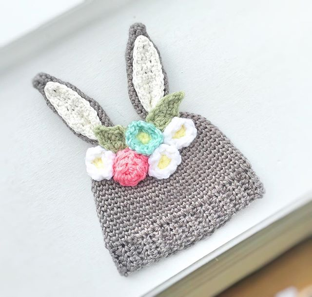 New pattern coming soon! 🐇💕🐰 #crochet #Easter #newborn #crocheting #crochetisfun #crochetaddict #babyfashion #kidfashion #bunny #bunnyhat #allyswoolery