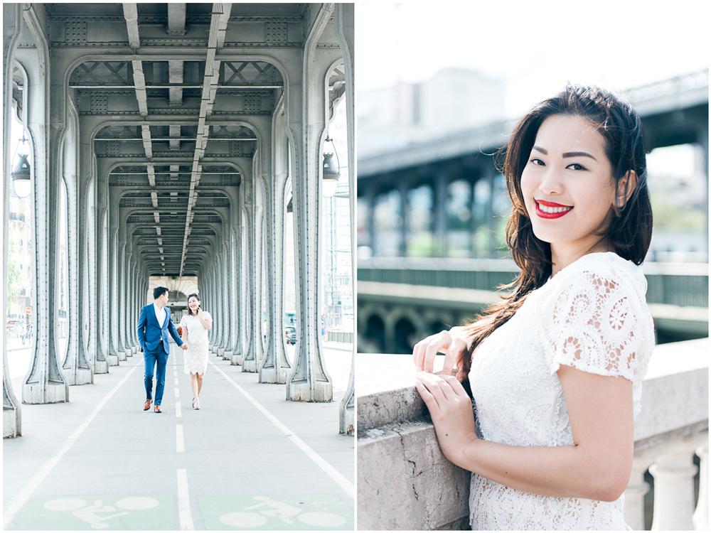 Paris photographer - Couple photo session in Paris