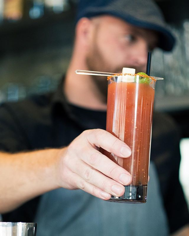 Staple ☝️ . .  #cocktail #cocktails #cocktailhour #craft #crafted #craftedcocktails #instadrink #liquorgram #cocktailsocial #cheers #liquor #happyhour #drinks #mixology #dtsa #santaana #oc #orangecounty #themoreyouknow #bloodymary #happywednesday #eatchow
