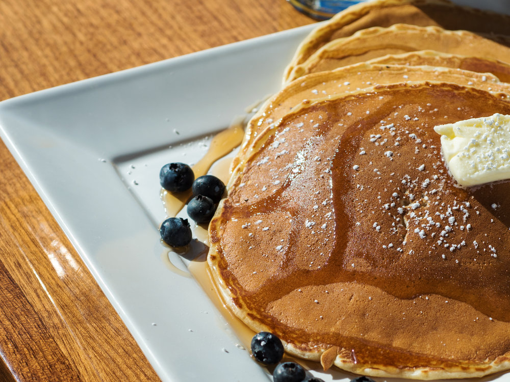 Chow Buttermilk Pancakes