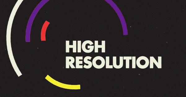 high resolution podcast