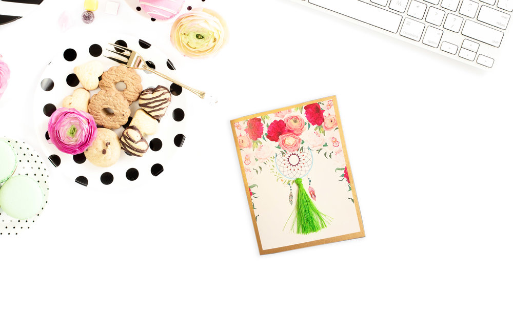"Dreamcatcher POP UP CARDS  Set of: 6 cards. Click to enlarge.  280 GSM TEXTURED PAPER  Size: 4.25"" (w) x 5.5""(h) Folded cards - blank inside   ₹ 450/-     BUY NOW"