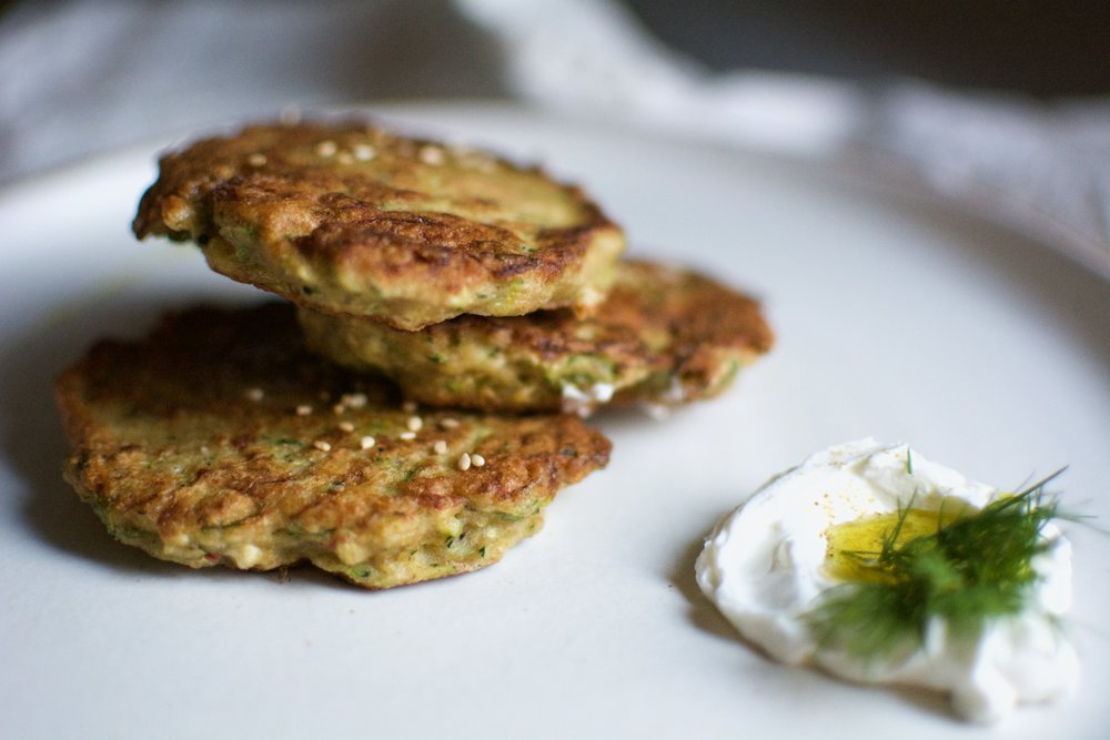 Healthy Zucchini Fritters | Healthy Recipes | Olea of Monemvasia