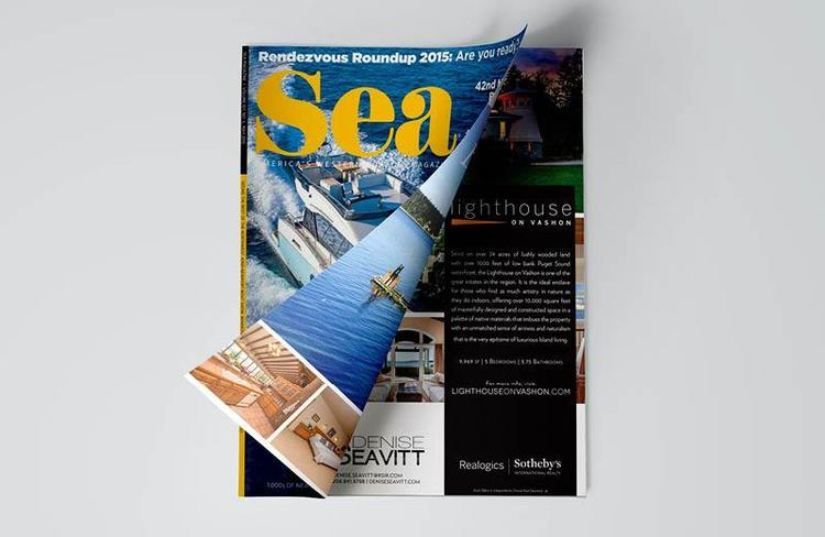 Sea Magazine, Realogics Sotheby's International Realty Local Advertising