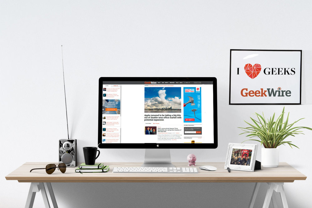 GeekWire - Geek Home of the Week