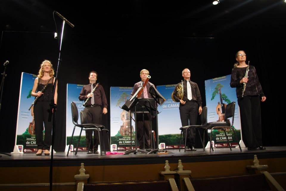 performing as guest oboist with the Dorian Wind Quintet Aguascalientes MX 2013.jpg