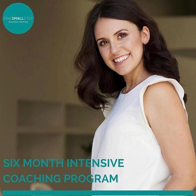 ONGOING COACHING // Guys I'm getting more and more enquiries for ongoing coaching - in a nutshell if that is what you are looking for, then this is my best value program. You get two coaching sessions per month for six months, which enables me to work really closely with you and your business to give you your best chance of achieving your goals. $550 per month, payable monthly or upfront. I've got limited availability so if you'd like to find out more about this package (or any of my others!) email me on info@onesmallstepcoaching.com.au. More than happy to help! x