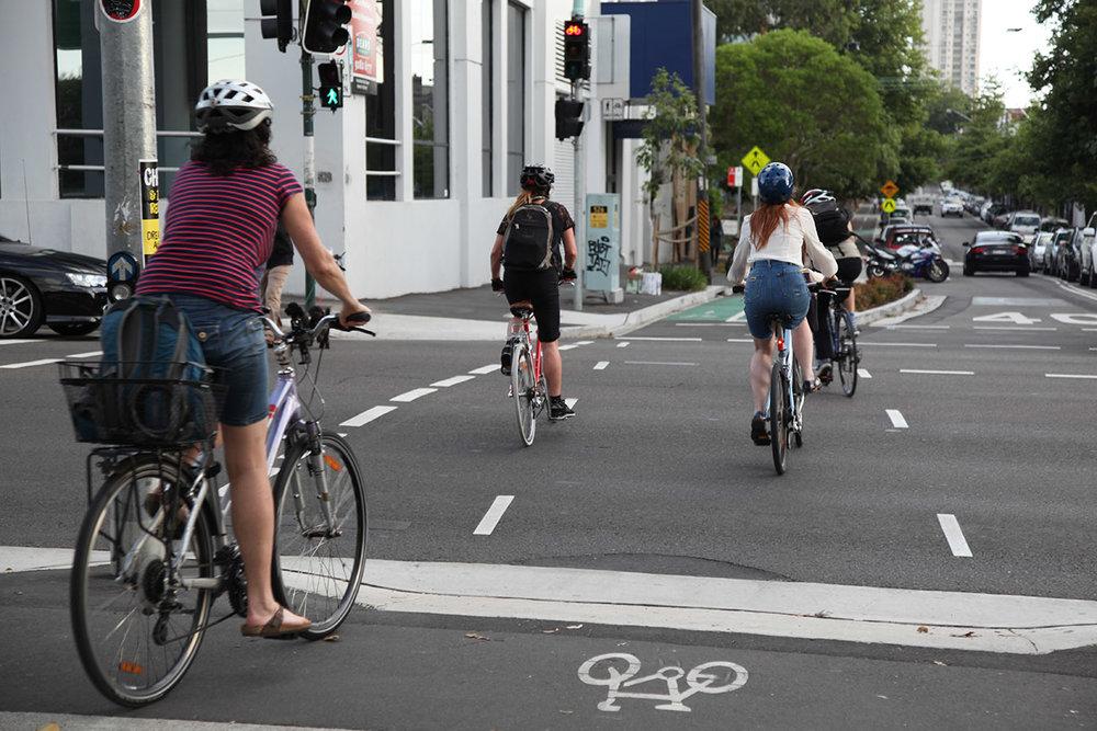 George Street Cycleway, Redfern — Sydney