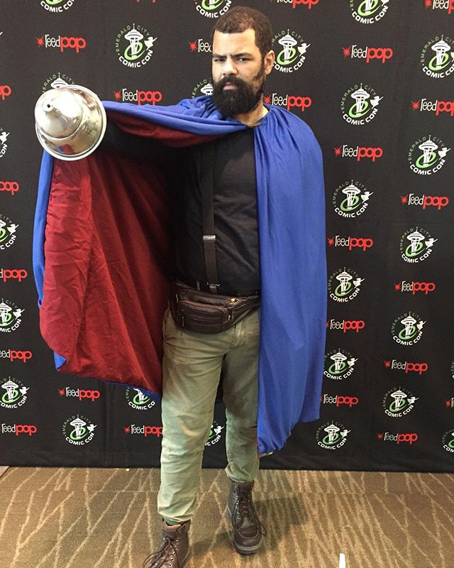"Emerald City Comic Con Day 2 - ""Fat"" The Will - Saga #eccc #eccc2019 #saga #sagacomic #thewill #podcast"