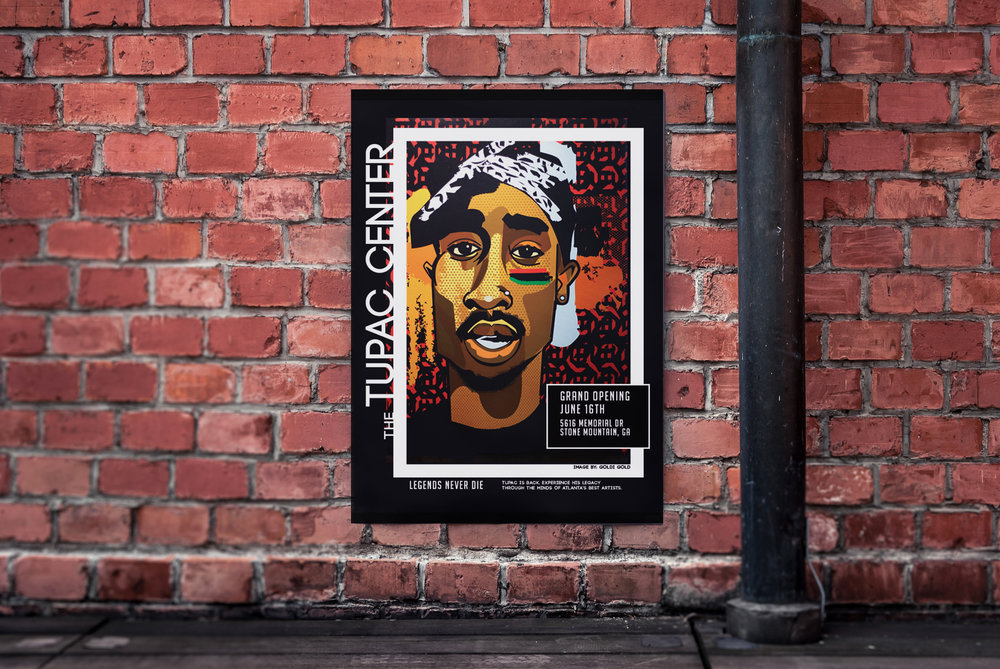 POSTER DESIGNED BY ATL ARTIST FEATURED IN DOCUMENTARY