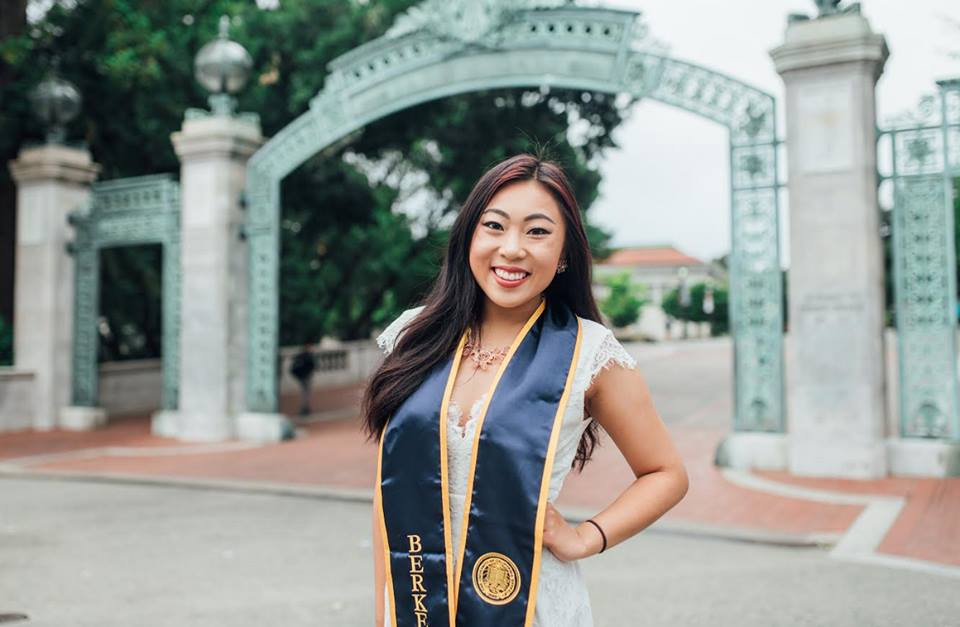 2017 University of California Berkeley graduate Carmen K. Zheng