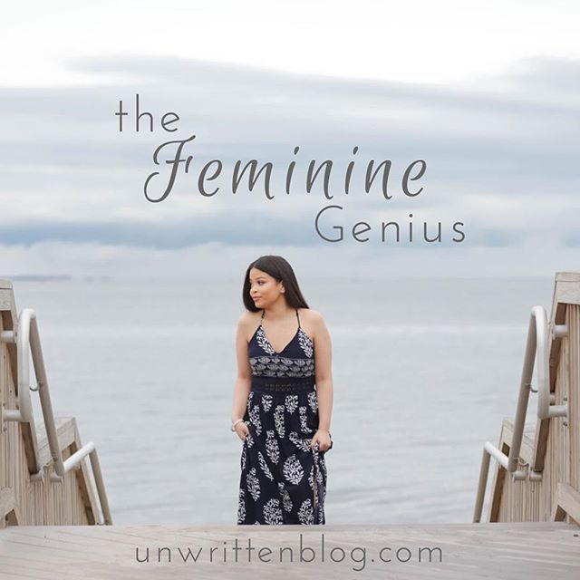 "Ready for Part 2?! Follow the link in our bio to read more about what it means to be a woman and accept our feminine genius . . ""The more a woman is holy, the more she is a woman."" -Archbishop Fulton Sheen . . 📷: @mariselrodphotography  #catholicblog #women #femininegenius #femininity #womensblog #unwrittenblog"