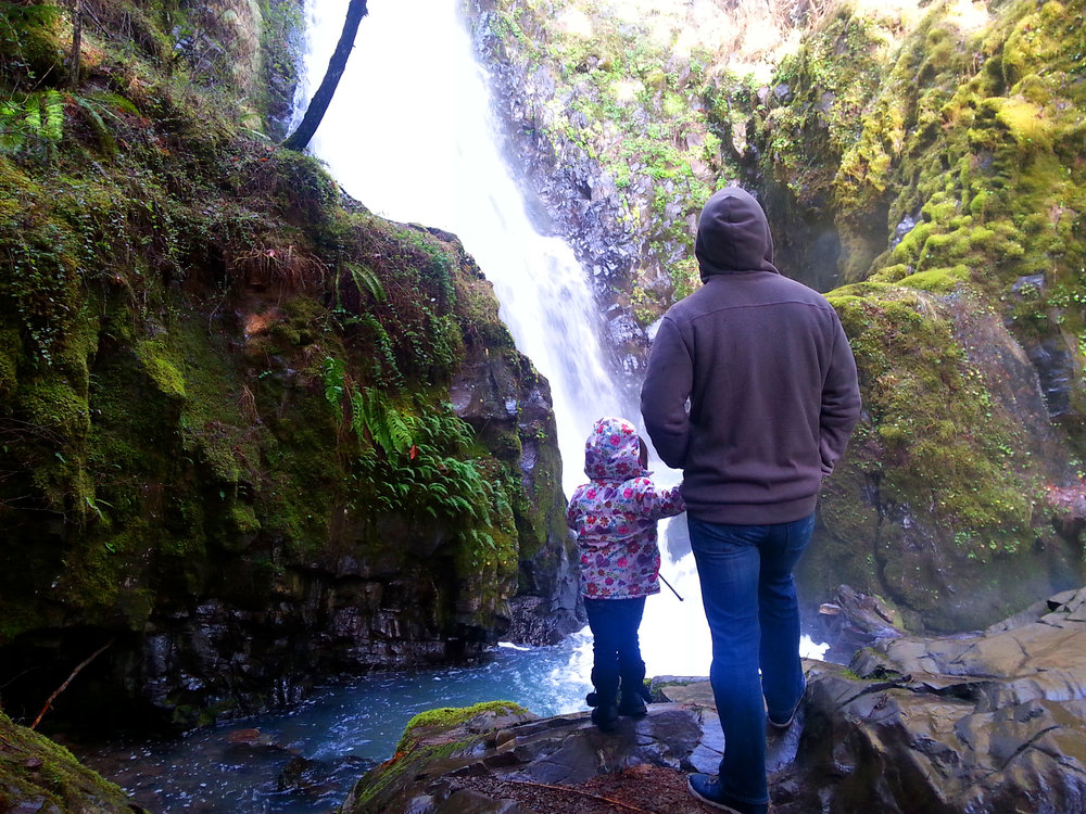 SUSAN CREEK FALLS - Roseburg - What to do in Southern Oregon - Waterfalls - Camping