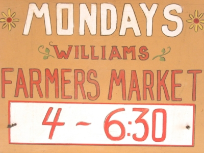 WILLIAMS FARMERS MARKET - What to do in Southern Oregon - Things to do in Williams with Kids - Events Calendar