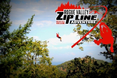 ROGUE VALLEY ZIPLING - What to do in Southern Oregon Birhtday Parties - Things to do in Gold Hill - Central Point