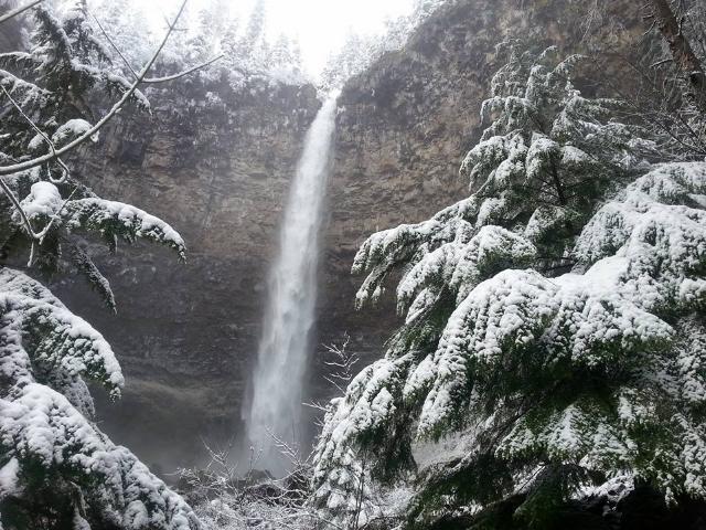 Watson Falls in February