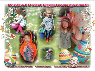 CENTRAL POINT EASTER EGGSTRAVAGANZA - What to do in Southern Oregon - Things to do - Events