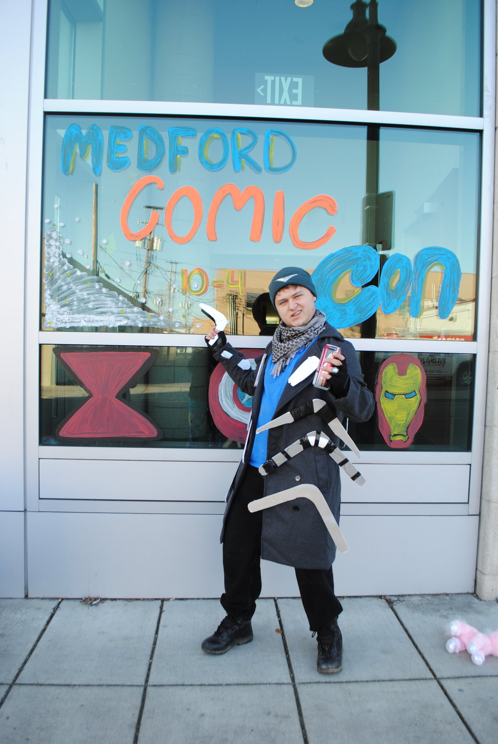 MEDFORD COMIC-CON 2017 - What to do in Southern Oregon - Medford - Jackson County Library Services - Rogue Community College - Friends of the Medford Library