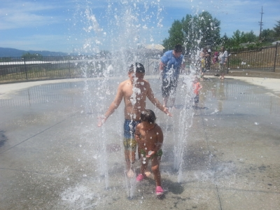 LONE PINE SPRAY PARK - What to do in Southern Oregon - Spray Parks - Things to do with Kids - Medford