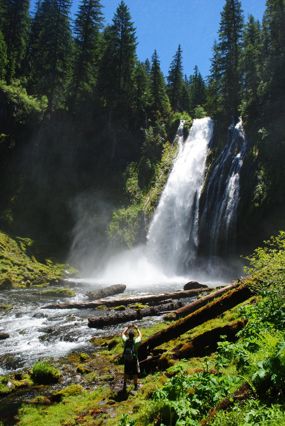 FOUR WATERFALLS, ONE DAY - HIKING ADVENTURES WITH KIDS - What to do in Southern Oregon - Things to do - Douglas County - Lemolo Falls