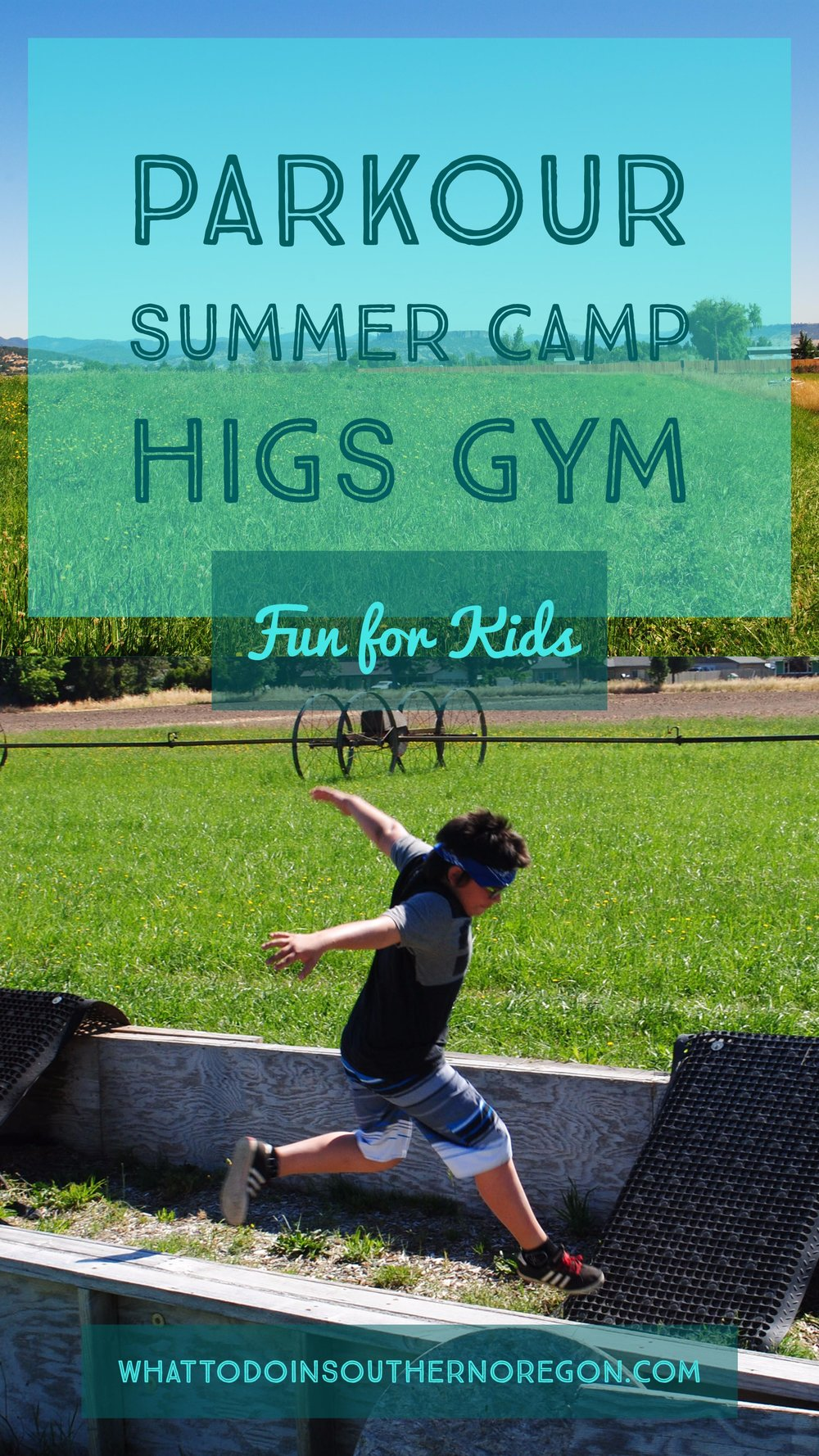 HIGS GYM - PARKOUR SUMMER CAMP - What to do in Southern Oregon - Things to do - Kids - Central Point - Medford