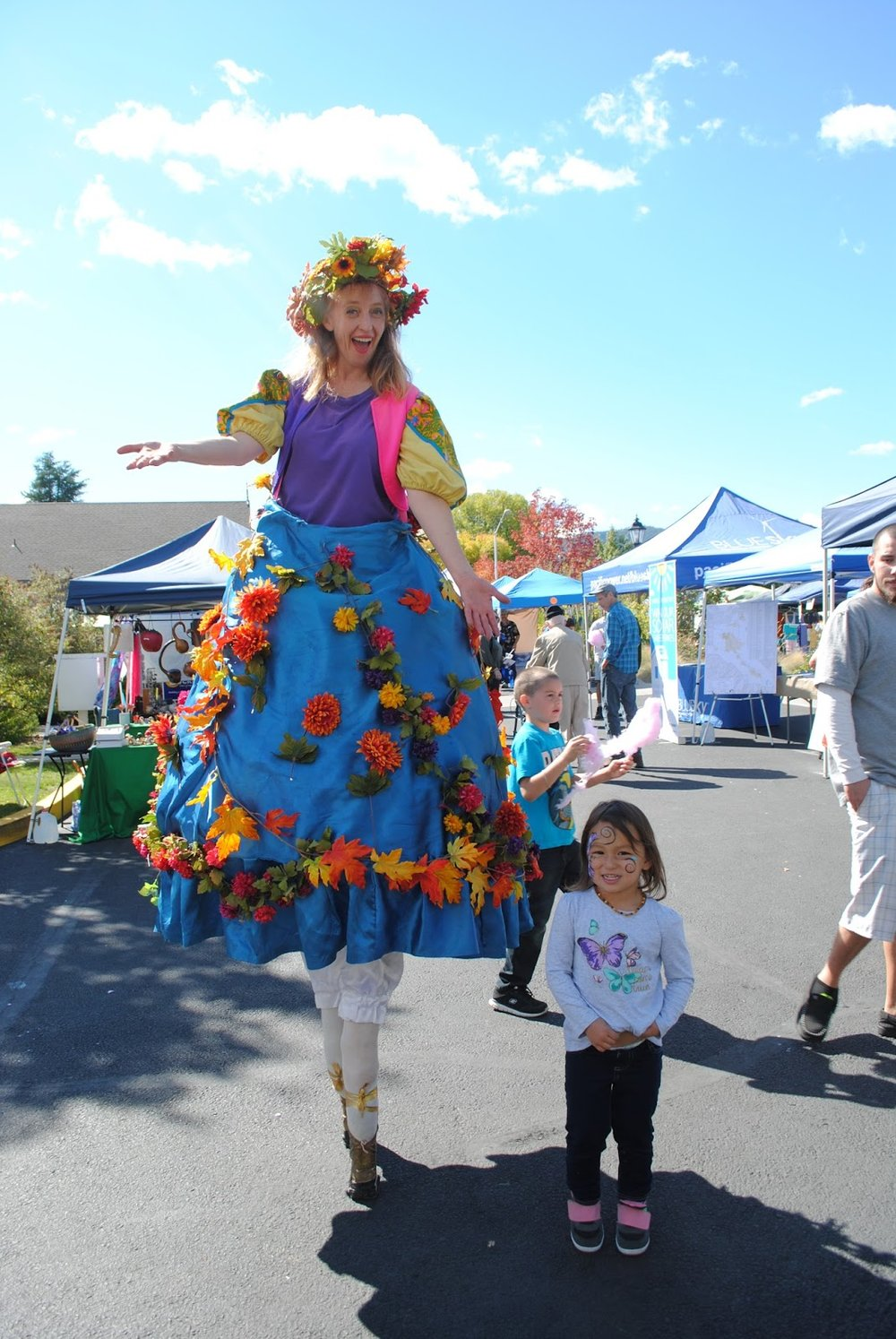 TALENT HARVEST FESTIVAL  & RUN - What to do in Southern Oregon - Kids - Family - Fall