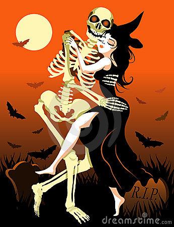 halloween dance day of the dead celebration - Dancing Halloween
