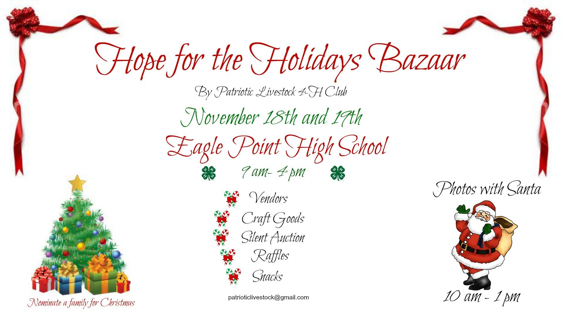 holiday bazaars what to do in southern oregon - Hope For Christmas