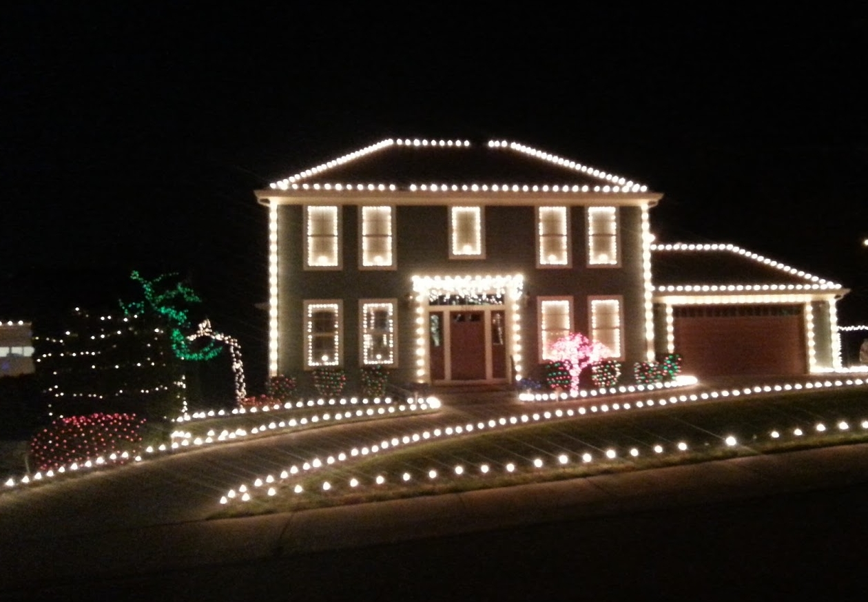 christmas lights trail through the rogue valley