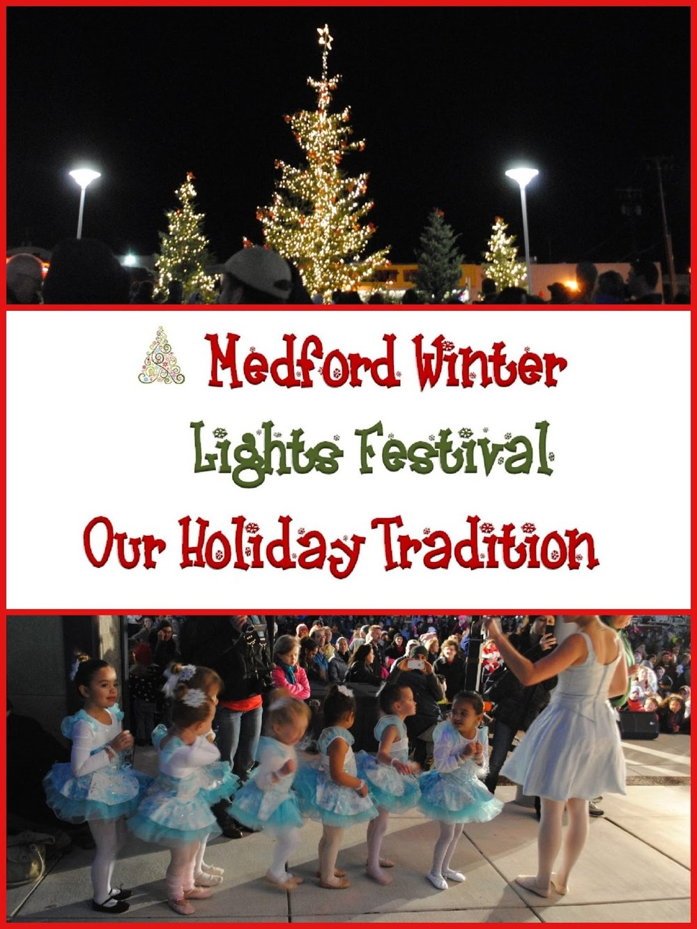 MEDFORD WINTER LIGHTS FESTIVAL - Candy Cane Hunt - Christmas - Santa
