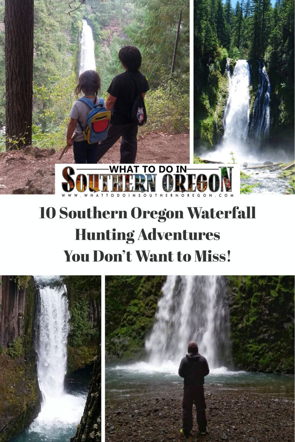 10 Southern Oregon Waterfall Adventures - What to do in Southern Oregon