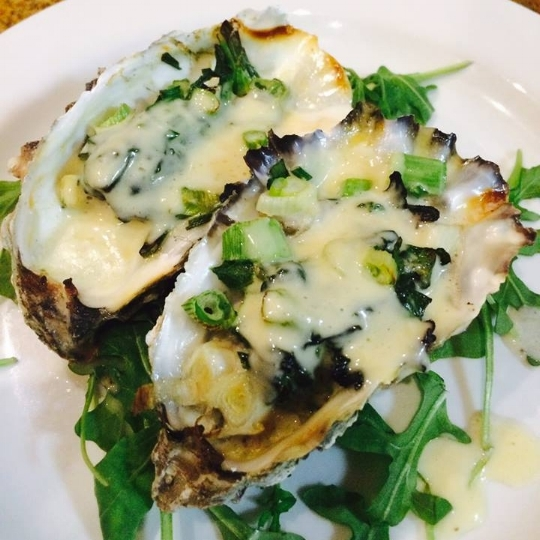 Baked Oyster Gratin | Pic cred: Loft