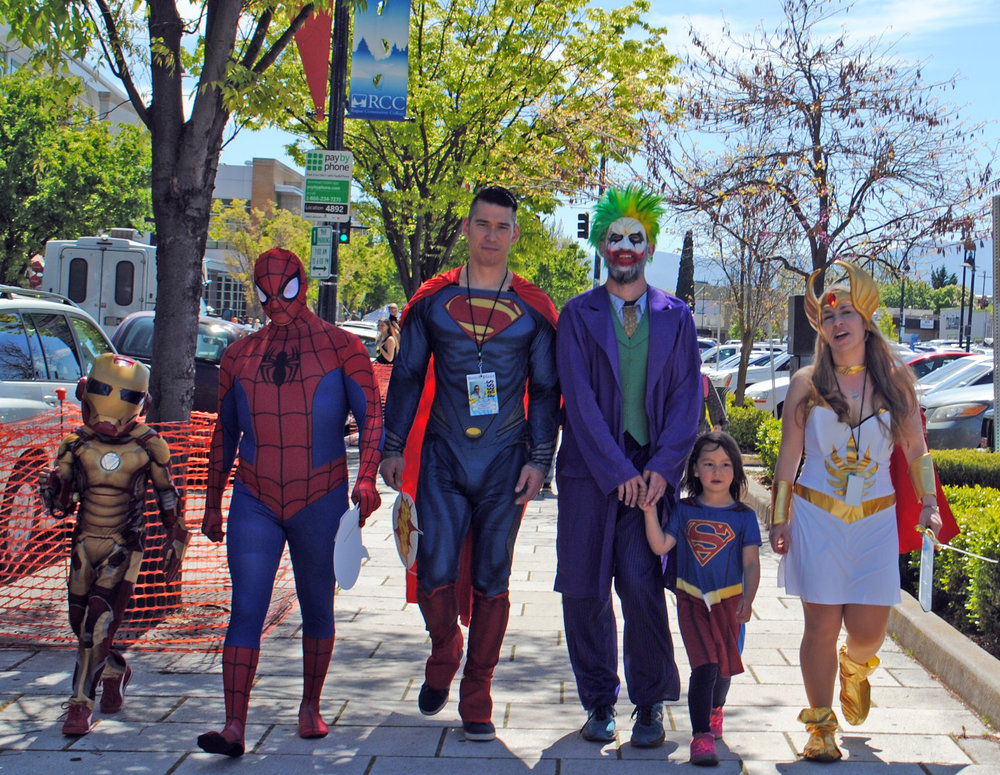 Medford Comic Con - What to do in Southern Oregon - Spring Festivals and Events
