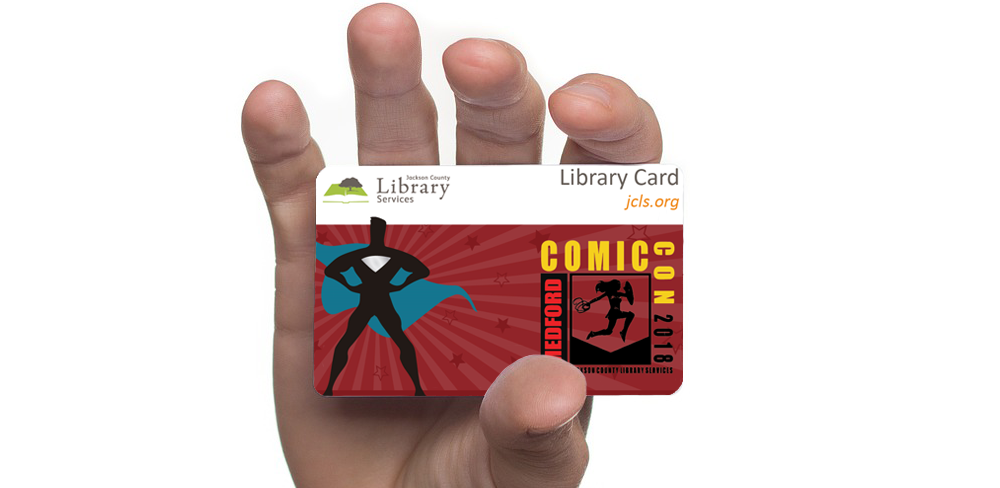 Medford Comic Con Library Card