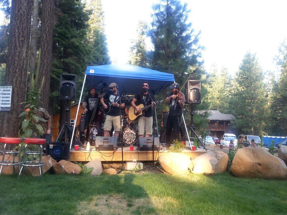John Dough Boys at West Coast Country Music Festival