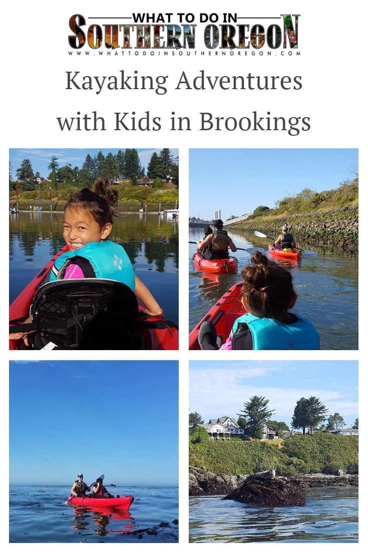 Kayaking Adventures with Kids in Brookings - What to do in Southern Oregon