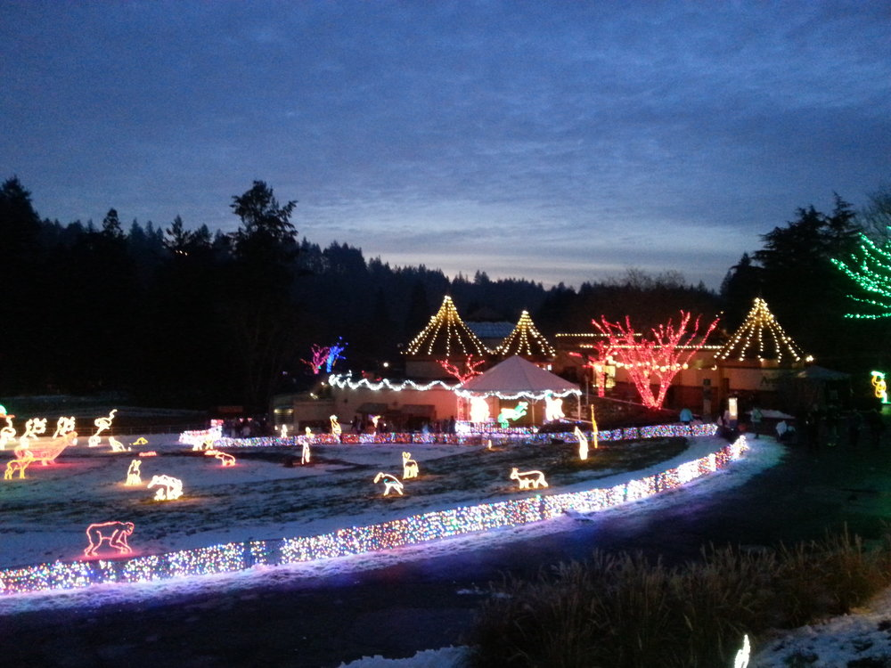 Oregon Zoo Zoolights - Portland - What to do in Southern Oregon