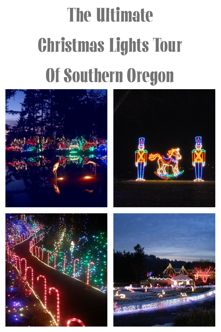 The Ultimate Christmas Lights Tour of Southern Oregon - What to do in Southern Oregon