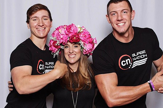 Another tough day on the job!  Back off boys, I'm married! 🤣#thebigcheesephotoboothco #texasphotoboothrentals #texascorporateevents #texasphotobooth #props #muscles #thebigcheese #lufkin