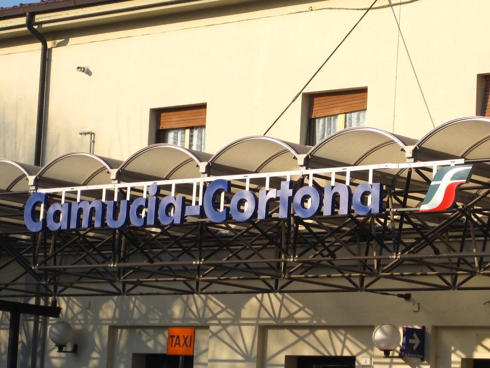 Camucia - Cortona Train Station