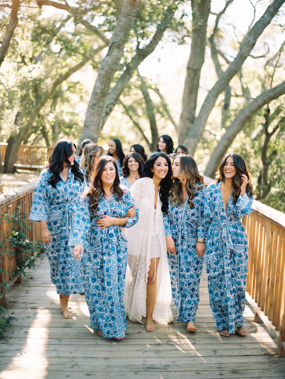 THE PERFECT BRIDESMAID KIMONO ROBE