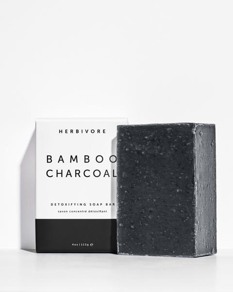 Herbivore botanicalsbamboo charcoal cleansing bar soap -  $13
