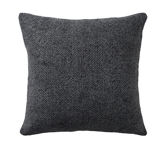 Faye Textured Linen Pillow Cover